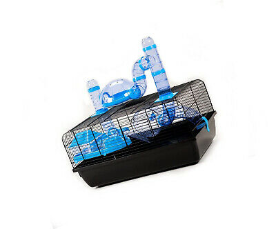 Little Friends Landmark Animal Cage with Accessories, Small, 58 x 38 x 29 cm,