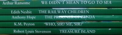 Libri in lingua inglese Lotto di 5 libri - The Railway Children, Treasure Island