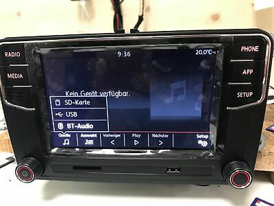 VW RCD 360 Pro - Car Play - Android Auto - Bluetooth - deutsch