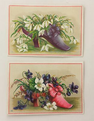 LOT 1880s antique 2pc WITMEYER BOOKS STATIONERY lebanon pa VICTORIAN TRADE CARDS