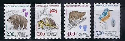 France - 1991 Sc. 2261-2264, Wildlife issue