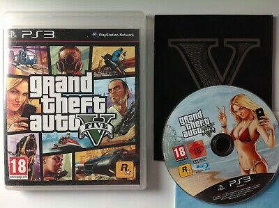 Grand Theft Auto V Cinco Gta PLAYSTATION 3 PS3 P02