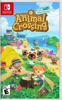 Animal Crossing: New Horizons - Nintendo Switch Game - Physical Copy (NEW)