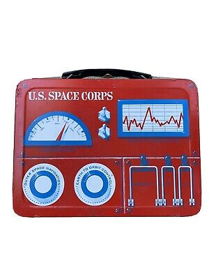 U.S. Space Corps Metal Lunch Box