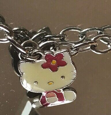 Hello Kitty Toggle Charm Bracelet Set-Free Shipping-New In Package