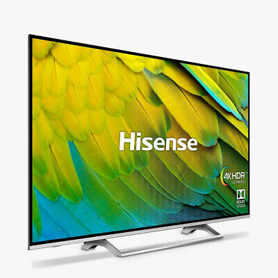 Hisense H43B7500UK (2019) 43 Inch Smart 4K UHD LED HDR TV Freeview Play B Grade