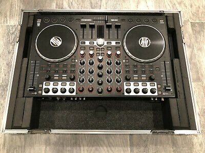 Reloop Terminal Mix 4 Controller with ODYSSEY heavy duty carrying case.