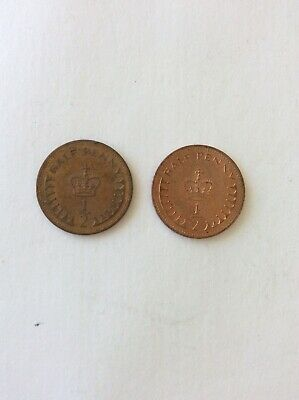 1/2 Half Penny 1982 & 1983 Circulated