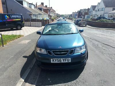 Saab 93 aero convertible v6 turbo rare manual