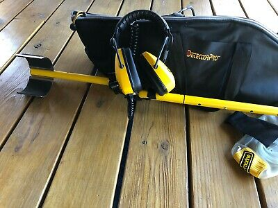DetectorPro Headhunter Diver Wader Underwater Metal Detector - Unused
