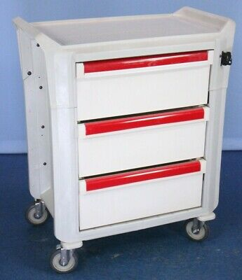 Metro Flex Lockable Medical Supply Cart Medical Crash Cart with Warranty