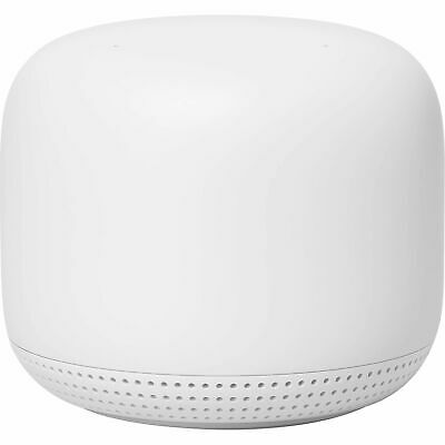 Google Nest Wifi AC2200 Mesh System Router with 1 Add-On Point 2 Pack Snow