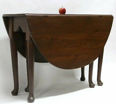 American Southern Antique Drop Leaf Table
