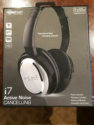 Noisehush i7 Noise Cancelling headphones NEW IN BOX