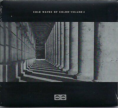 COLD WAVES OF COLOUR - Volume 5 - V/A (sealed digi-pak cd) COLOR CD 08/LION