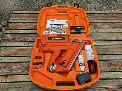 Paslode IM350/90CT gas Nail Gun 1st fix. GREAT CONDITION