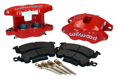 "Wilwood D52 Front Caliper Kit - Red 2.00 / 2.00"" Piston,1.28"" Rotor"
