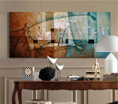 ZOPT507  100% hand painted charmed large abstract modern oil painting art canvas