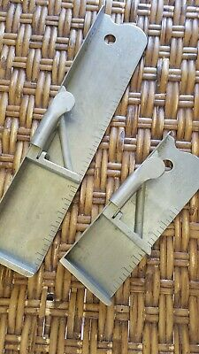 Letterpress Rouse Stainless Steel Composing Stick 46 pica and 22 pica by pica st