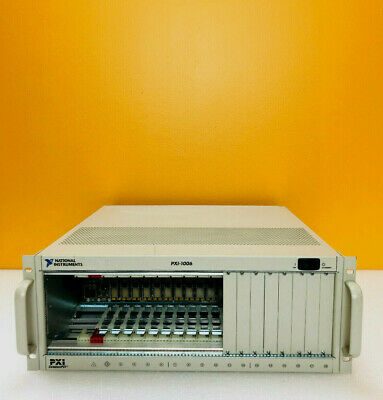 National Instruments PXI-1006 18 Slot 3U Size 600 Watts PXI Chassis.