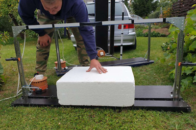 Foam Polystyrene Cutters With Hot Wire