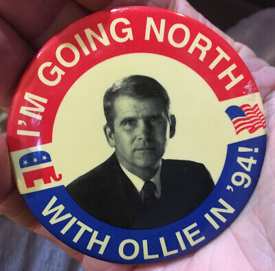 Ollie North 1994 Campaign Pin