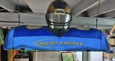 Unique Rams Pool Table Light - Has Helmet -Shade Covered By Jersey Like Material