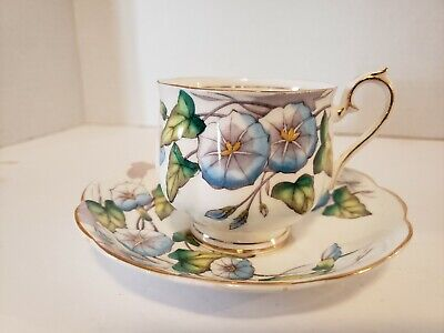 Royal Albert Flowers Of The Month No9 Tea Cup And Saucer