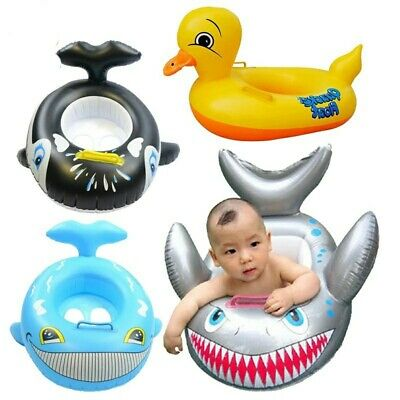 Inflatable Pool Floats Kids Swimming Beach Swim Water Ring Toddler Raft Baby