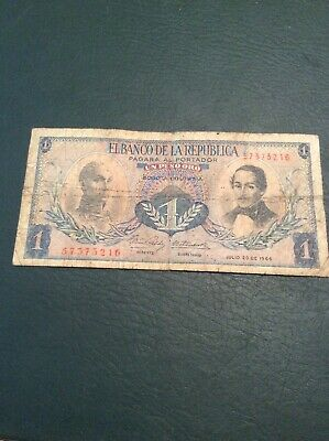 Banknote Colombia #1