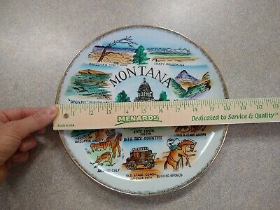 Montana Decorative Plate Made In Japan