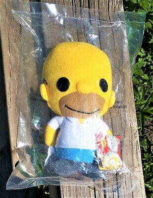 Homer Simpson The Simpsons Funko Plushies Plush 2011 Figure Doll With Tags