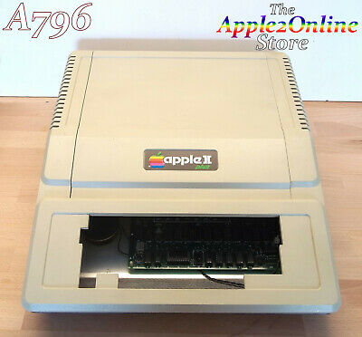 ✅ Apple II Plus Excellent CONDITION Just Add Keyboard!  - Cleaned & Tested