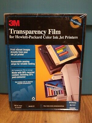 3M CG3460 Transparency Film, 50 sheets - NEW