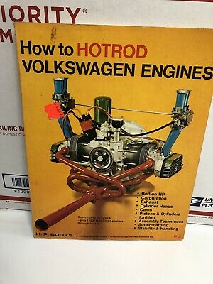 HOW TO HOT ROD VOLKSWAGEN ENGINES VW MANUAL BUG BUS GHIA BY BILL FISHER ac000801