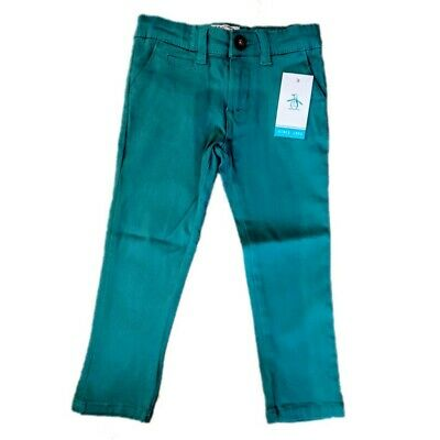 Original Penguin Jeans Boys Turquoise Skinny Stretch 2 3 4 5 6 7 years bottoms