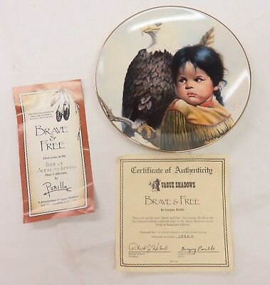 """Perillo Collector Plates from  /""""Pride of America/'s Indians/"""" EUC You Choose"""