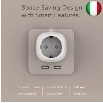Remote Wireless Smart Plug WiFi Outlet Works with Alexa Echo Google Home 2-Pack Smart Plug REAFOO 13A WiFi Smart Socket with Timer Energy Monitor