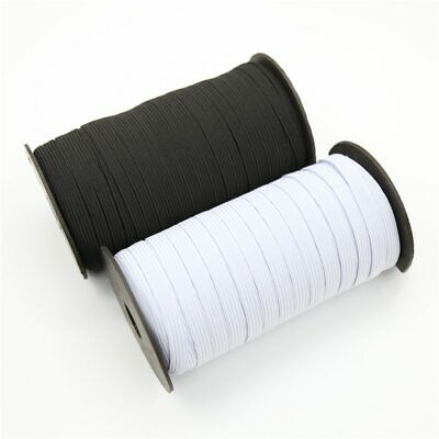 4 mm Face Mask Elastic for Sewing QUALITY UK STOCK Stretch Band Cord Black White