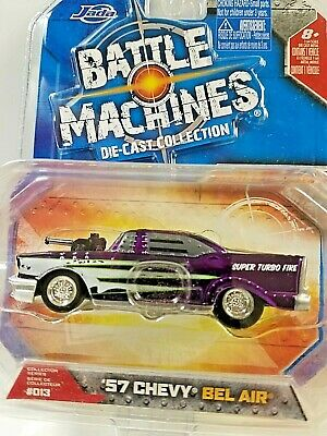 Jada 1//64 Battle machines 1969 Chevy Camaro SS Police #017 12111 MOC 111042