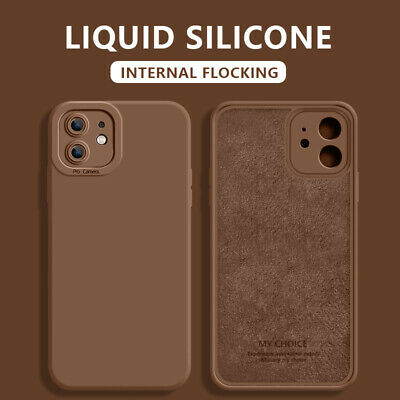 For iPhone 11 Pro Max SE 2 XS XR 8 7 6 New Color Liquid Silicone Case Soft Cover