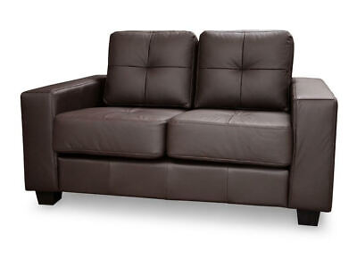 BRAND NEW JERRY CANDY 2 Seater MODERN Sofa Black or Brown