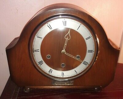 Vintage Smith's westminster chime Mantel clock