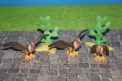 New Open Packaging Movie Playmobil PZ-8 Vulture Figure Tree Signs