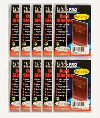 Ultra Pro - 1000 Soft Sleeves - 10 Packs