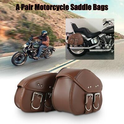 HONDA SHADOW SABRE ACE 1100 750 LEATHER SADDLE BAGS 2PC