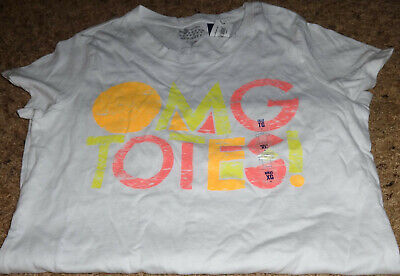 Nwt Girls Old Navy Graphic T-Shirt-Size Xl-14-White-Omg Totes