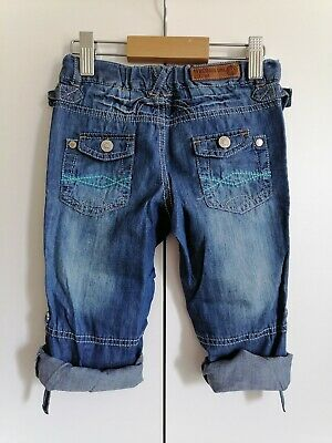 BNWT Marks and Spencer Summer Boys Jeans with Monster Keyring Age 2-3 years