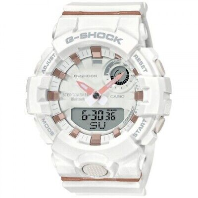 Casio G-Shock S-Series G-Squad Connected White Resin Watch GMA-B800-7A