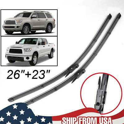 """pair 26+22/"""" Windshield Wiper Blades for Toyota Tundra Sequoia 2007-2017"""